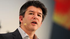 Travis Kalanick, 40, CEO of Uber. The company is facing
