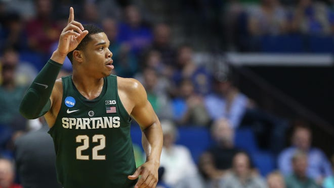 Most NBA draft experts are predicting Miles Bridges will be a top-5 pick in the 2018 NBA draft.