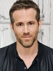 """Actor Ryan Reynolds has the title role in """"Deadpool,"""" a new movie from Marvel opening next month."""