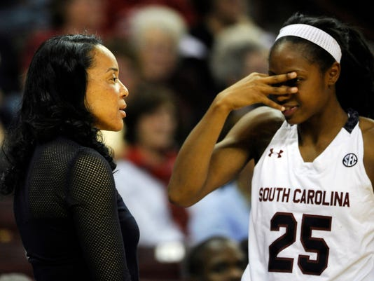 Dawn Staley, Tiffany Mitchell