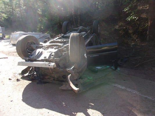 Belknap Springs crash