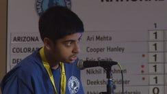 Phoenix eighth-grader Ari Mehta said he studied geography