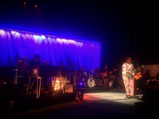 Alabama Shakes at Forest Hills Stadium in Queens on Sept. 19.