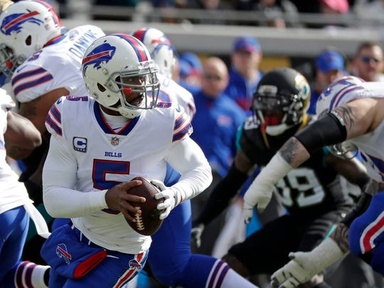 Tyrod Taylor led the Bills to a 2017 playoff berth and had a 22-20 record as a starter.