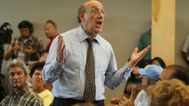 Compensation expert Kenneth Feinberg is able to pay victimes as much as he thinks appropriate as adminsitrator of a fund to compensate victims of GM's faulty ignition switches. He's shown speaking to potential victims of the BP oil spill in 2010. That compesatio fund had limits. GM's fund doesn't.