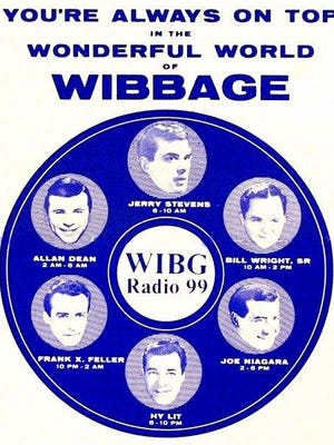 """WIBG Radio 99 (Wibbage), was the Philadelphia region's top radio station in the 1950s and '60s. In July 1960, two Radio 99 DJs, battled it out on the Vineland Speedway drag strip in a publicized """"grudge"""" match."""