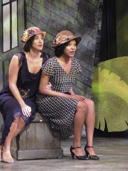 Michaela Dougherty as Daisy Philann Williams as Teazie jpg