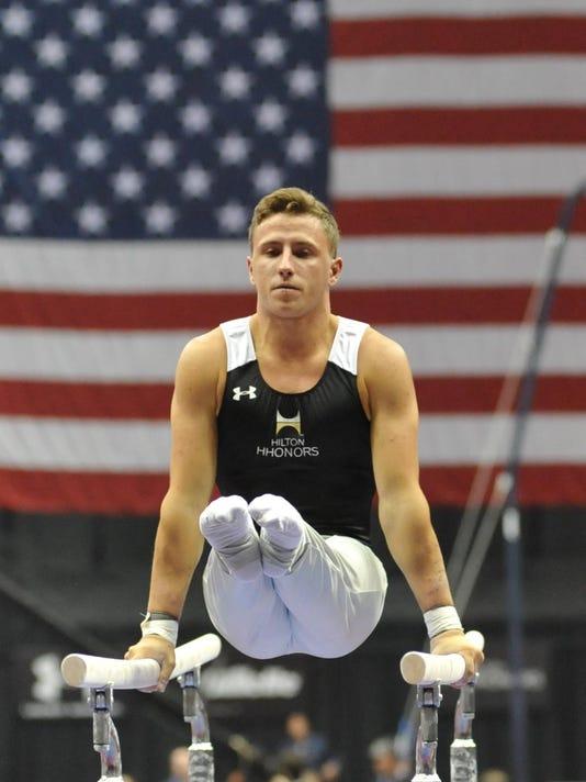 Gymnastics: U.S. Championships-Men
