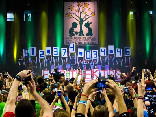 SInce THON began partnering with Four Diamonds in 1977, the dance marathon has raised nearly $168 million to help conquer childhood cancer.