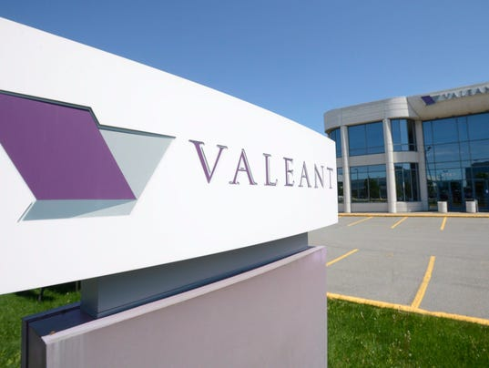 AP EARNS VALEANT PHARMACEUTICALS F FILE A CAN