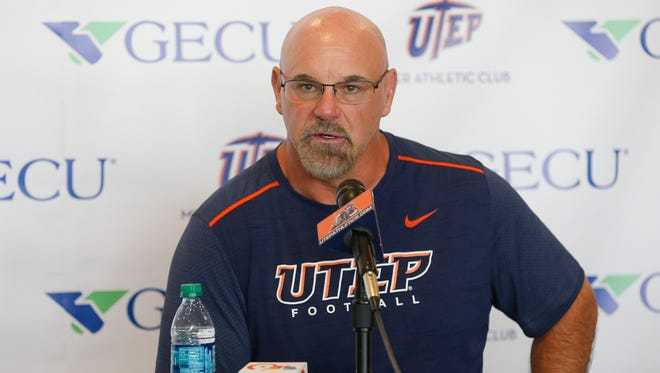 UTEP head coach Sean Kugler discusses his teams recent five-overtime win over UTSA Saturday night in San Antonio. The 52-49 game was the longest regular season game in the history of Conference USA. Kugler now moves his team's focus to this week's homecoming opponent, Old Dominion, on Saturday night in Sun Bowl Stadium.