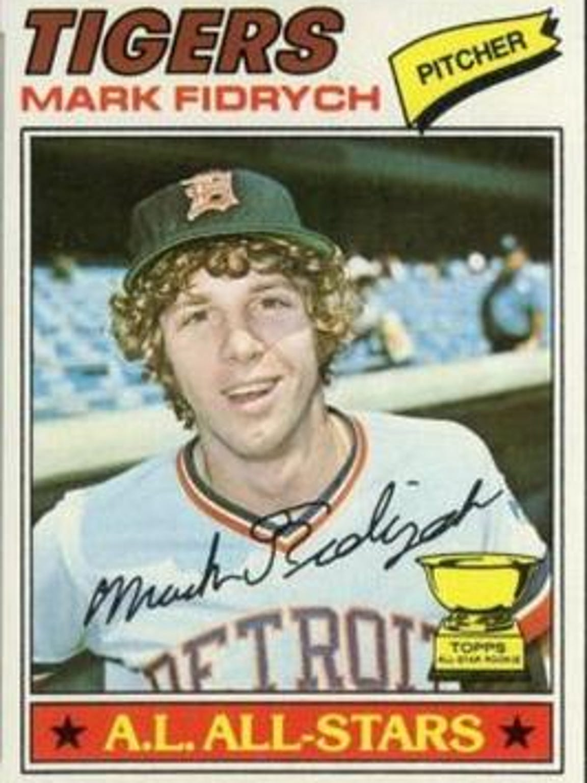 Fans were enthralled by Mark Fidrych's schoolboy enthusiasm