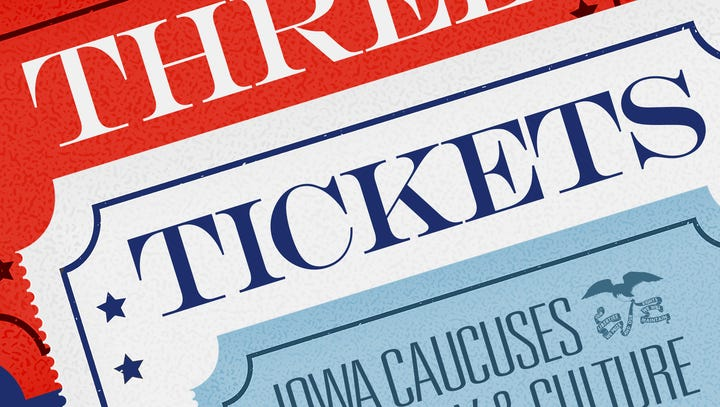 'Three Tickets' podcast: Catch up on the history of Iowa's Caucuses