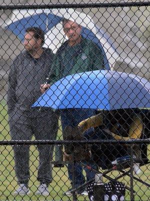 Rain hampered prep games throughout the region