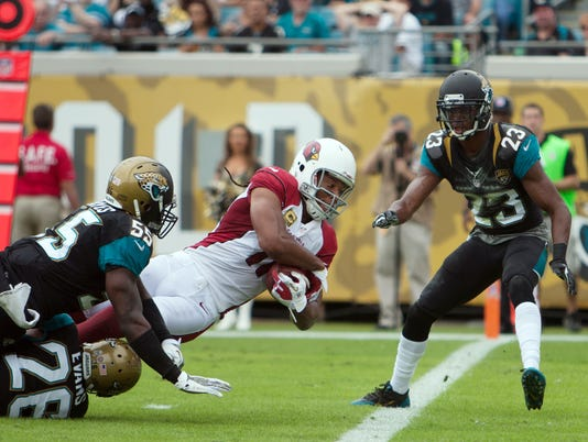 NFL: Arizona Cardinals at Jacksonville Jaguars