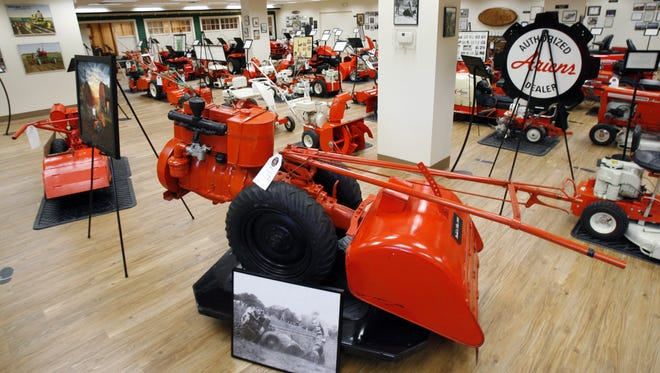The Ariens Co. features old models in its museum in Brillion.