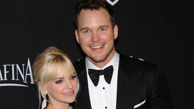 Chris Pratt and wife Anna Faris