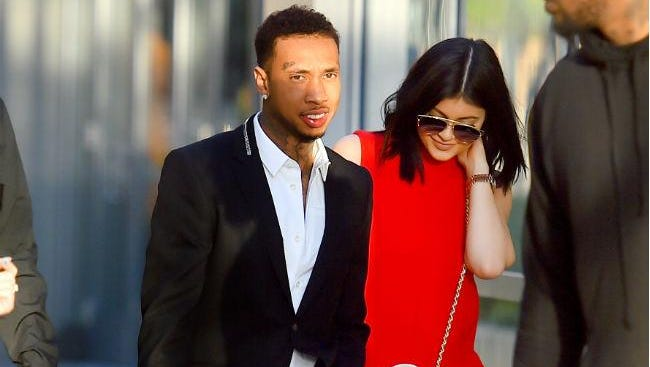 Tyga and Kylie Jenner.