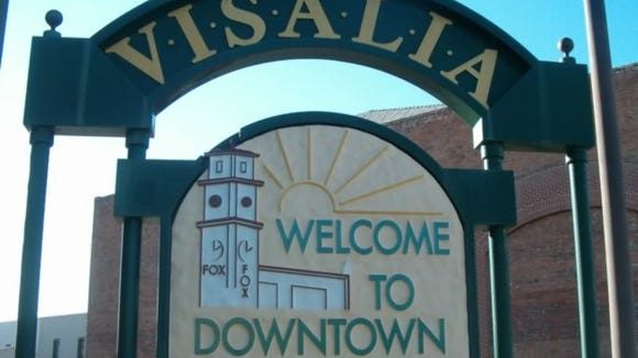 Visalia's downtown is the most vibrant in the Central Valley.