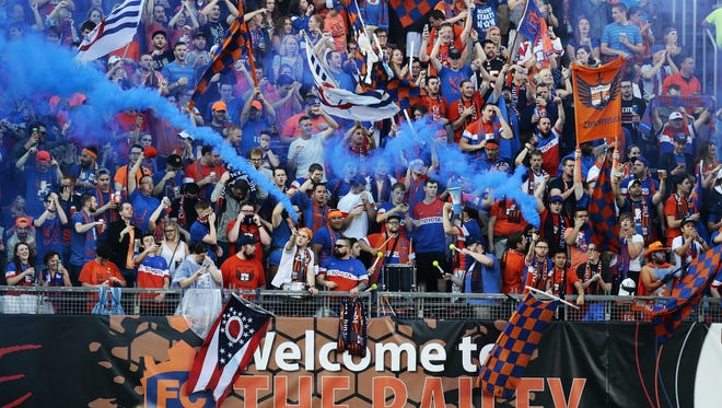 The Bailey for FC Cincinnati's Saturday game.