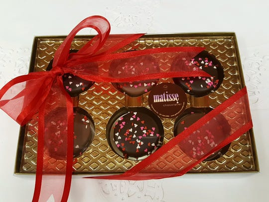 Matisse chocolates for Valentine's Day