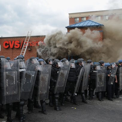 April 27, 2015 in Baltimore, Maryland.