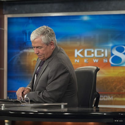 KCCI anchor Kevin Cooney reflects after reporting the