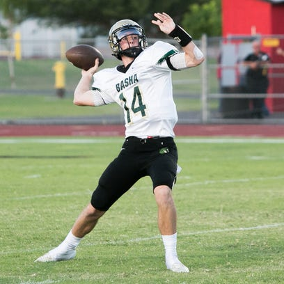 Ryan Kelley passed for 2,606 yards and 20 TDs with
