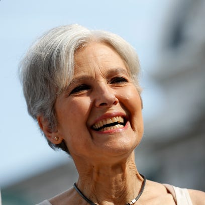Dr. Jill Stein, Green Party presidential nominee, arrives