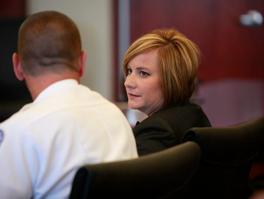 Campbell Commonwealth's Attorney Michelle Snodgrass,