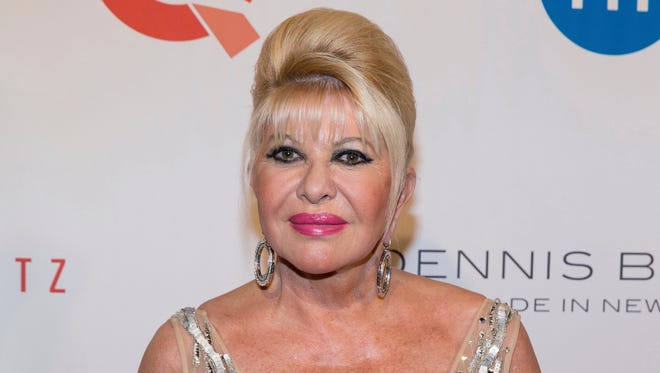 Ivana Trump in May 2016 in New York.
