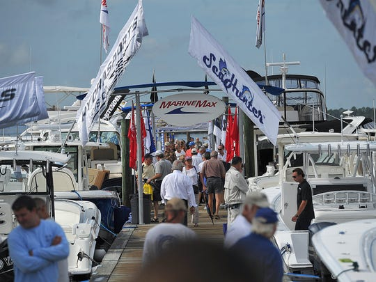 The Stuart Boat show runs Friday through Sunday along Dixie Highway in Stuart.