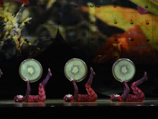 Cirque du Soleil OVO (egg in Portuguese) at U.S. Bank