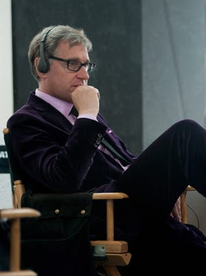 Director Paul Feig on the set of the motion picture ''The Heat''