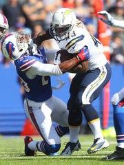 Corey Graham, left, and the Bills defense ranks second