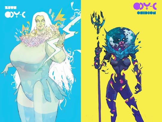 ODYC gods