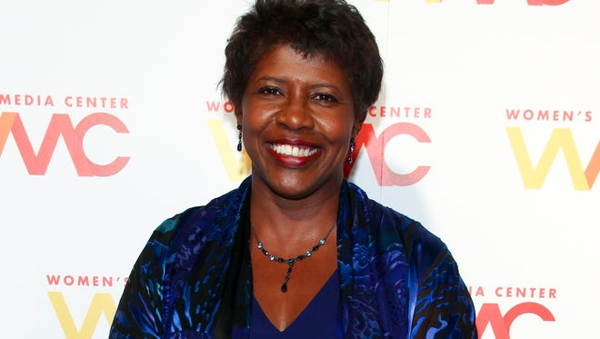 "FILE - In this Nov. 5, 2015 file photo, ""NewsHour"" co-anchor Gwen Ifill attends The Women's Media Center 2015 Women's Media Awards in New York. PBS announced last week that Ifill, the ""NewsHour"" co-anchor with Judy Woodruff, would be taking unspecified time off for health reasons. Ifill, 61, was out for two months last spring. She has not revealed the nature of her illness. (Photo by Andy Kropa/Invision/AP, File)"