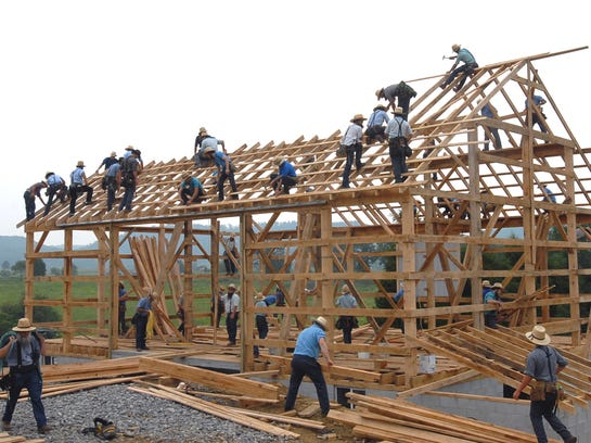 AP Barn Raising