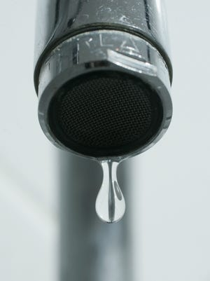 Dripping faucet.