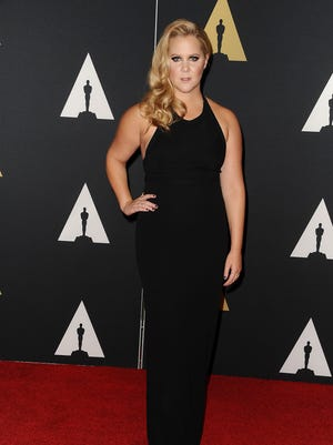 Amy Schumer at the Governors Awards on Nov. 14, 2015 in Hollywood.