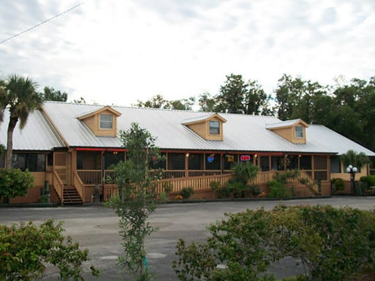 The former Oyster House Restaurant in Everglades City