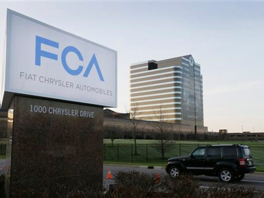 The U.S. government will fine Fiat Chrysler a record $105 million for violating safety laws in a series of recalls, a person briefed on the matter says.