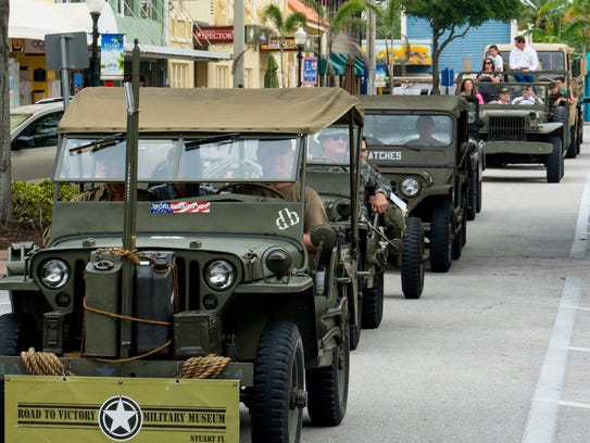 This weekend's Treasure Coast Music Festival at Memorial Park in Stuart includes a celebration of the expansion of the Road to Victory Military Museum.