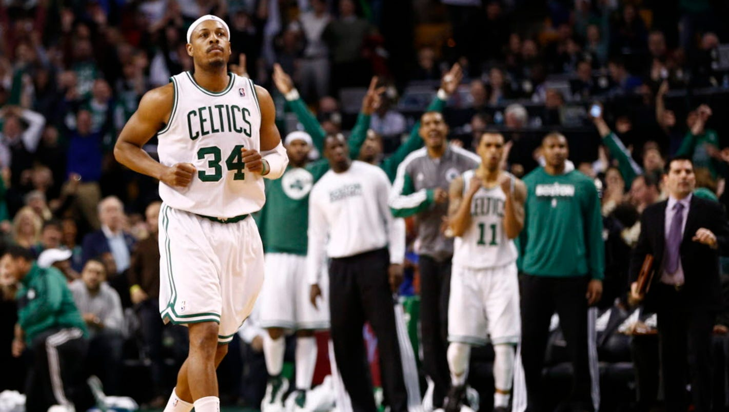 Paul Pierce will retire as member of Boston Celtics