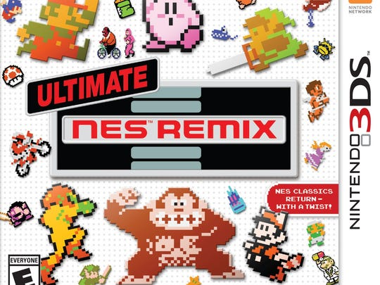 """""""Ultimate NES Remix"""" takes bite-size chunks from classic Nintendo games and re-imagines them for a new experience."""