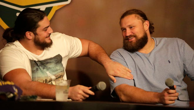 Green Bay Packers left tackle David Bakhtiari hosted Clubhouse Live on Monday at The Clubhouse in downtown Appleton. Bakhtiari's guest was left guard Josh Sitton. Watch the replay on clubhouselive.com.