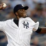New York Yankees starting pitcher Michael Pineda.