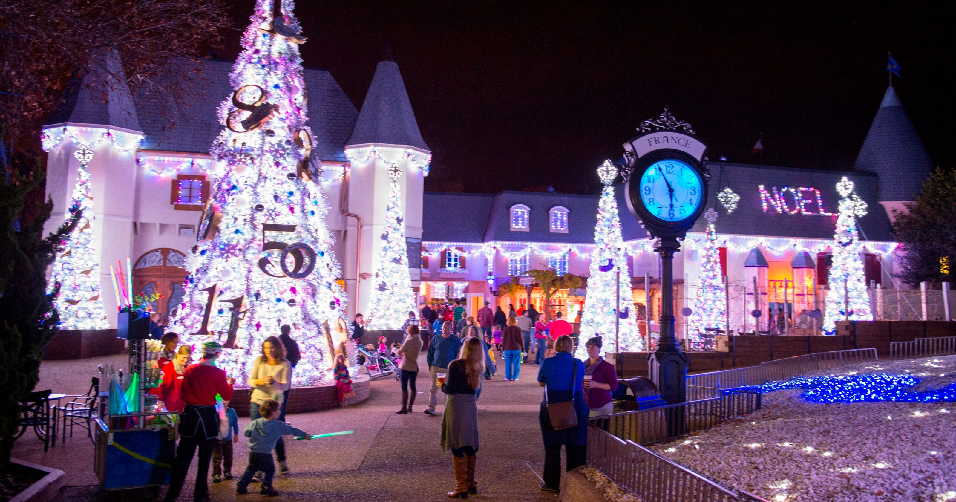 Christmas Theme Park.10 Great Theme Parks For The Holidays