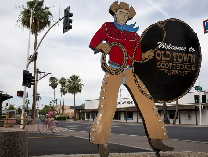 Downtown Scottsdale is full of culture and fun from
