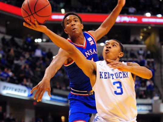NCAA Basketball: Champions Classic-Kansas vs Kentucky